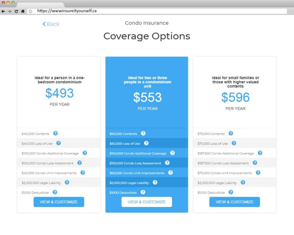 condo insurance step 2